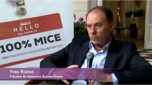 Interview de Yves Rioton fondateur de Séminaires Business Events